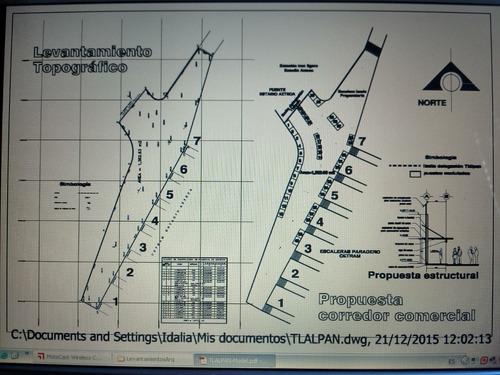 levantamientos arquitectonicos y topograficos