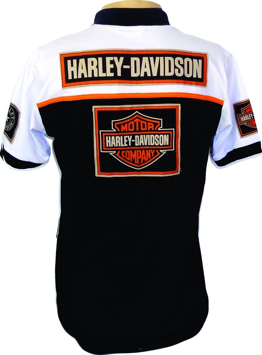 Leve 05 Modelos Camiseta Polo Harley-davidson - Frete Grátis - R  390 52987dafcad6c