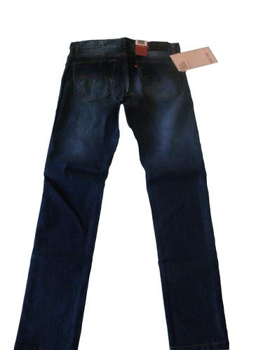 levis hombre jeans chupin