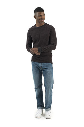 levi's® hombre long sleeve thermal crewneck 19349-0015