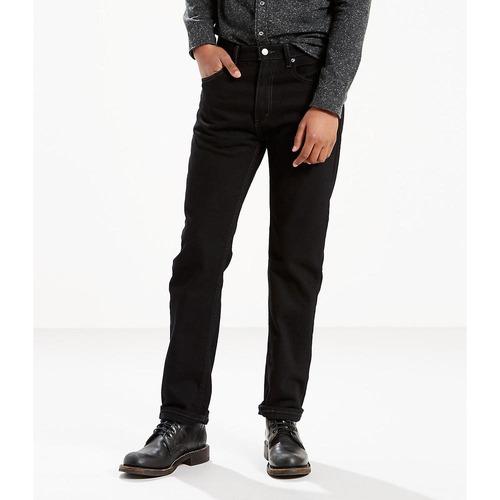 levi's® hombre pantalón negro 505 regular fit 00505-0260