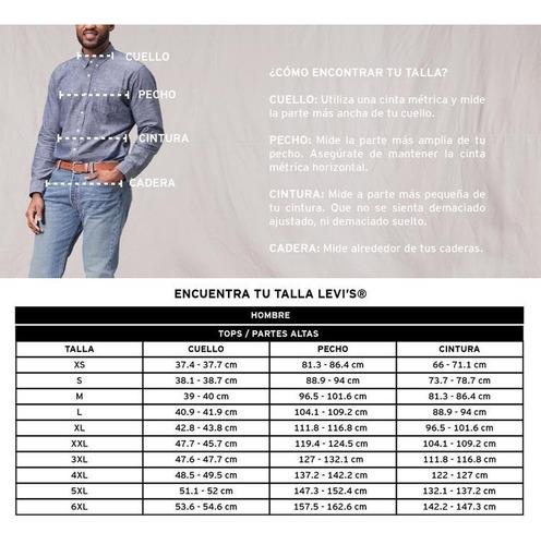 levi's® hombre playera graphic set-in neck 2horse midtone gr