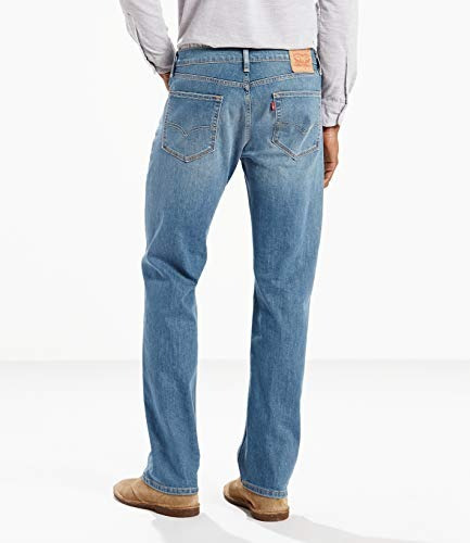 levi's hombres 505 regular fit jean,medio chipped,36x32