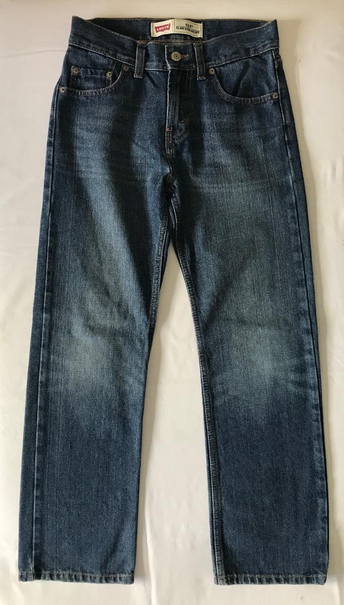 Levis Jean Azul Niños Modelo 514 Talle 12 Años 32000 En