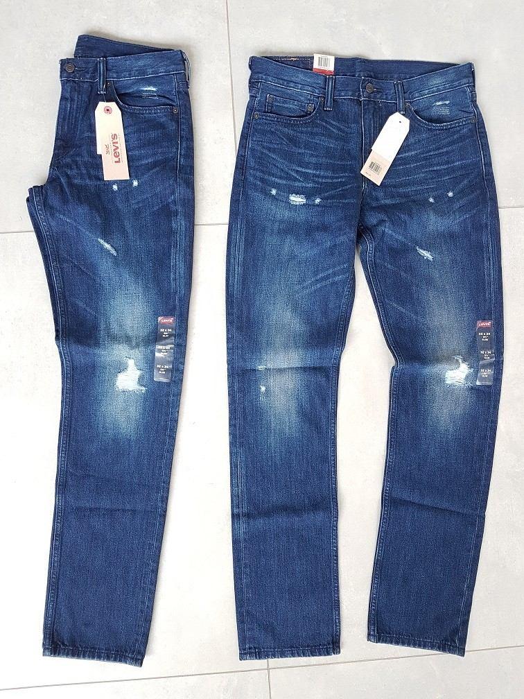 c58518c25 levis jeans slim fit 511 estonada puídos rasgada azul 501. Carregando zoom.