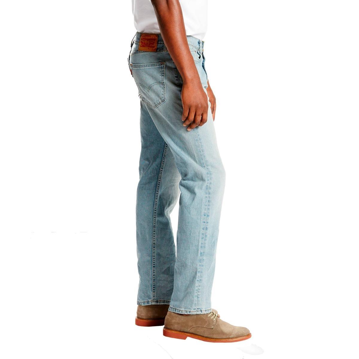 1ac6e456626e3 Carregando zoom... calça jeans levis masculino 505 regular clara