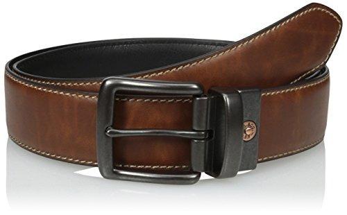 levi's men's reversible casual cinturón con borde de puntada