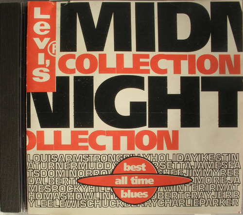 levis midnight collecti best all time blues vol1 cd imp. usa
