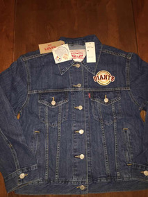 Patch Jacket Trucker Levis Mlb M San Francisco Giants Dama mNn0v8wO