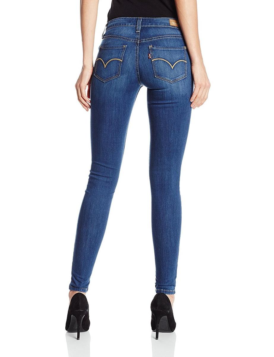 levis pantalon dama 535 super skinny azul indigo bs en mercado libre. Black Bedroom Furniture Sets. Home Design Ideas