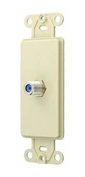 leviton 40681-i conector f decora insertar, marfil