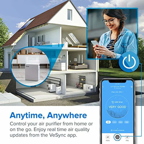 levoit smart wifi air purifier for home,