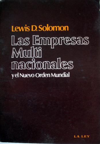 lewis d. solomon - las empresas multinacionales