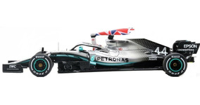 Minichamps Mercedes W05 Ganador GP de Malasia 2014-Lewis Hamilton Campeón 1//43