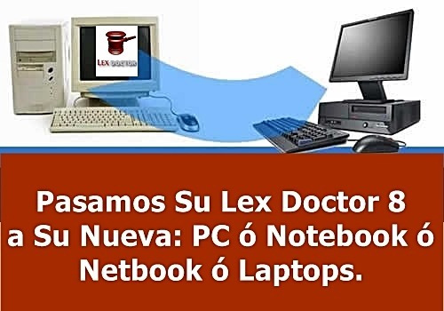 lex doctor 7 base 1 pc cliente abogados estudios juridicos