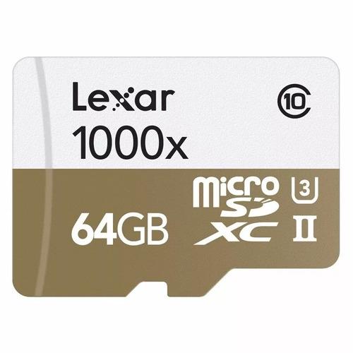 lexar 64gb micro microsd
