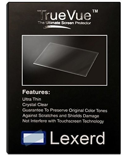 Compatible with Par Xp M50 TrueVue Anti-Glare POS Screen Protector Lexerd
