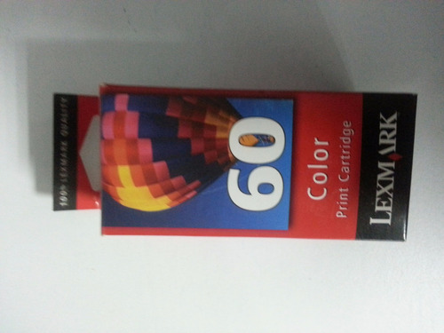 lexmark cartuchos originales no.60 color