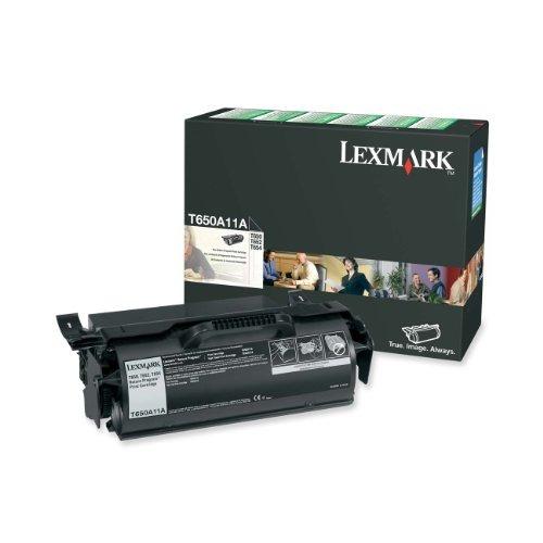 lexmark impresión tóner