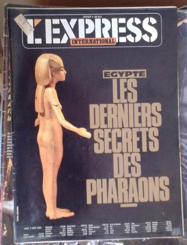 l'express international aout 1987 les derniers secrets de ph