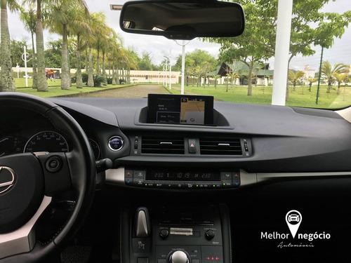 lexus ct200h 1.8 híbrido aut. 2017 cinza