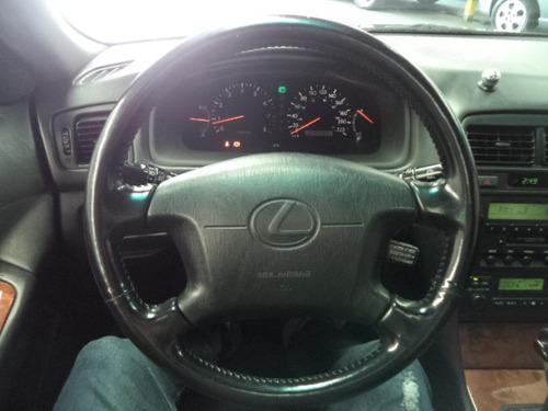lexus es 300 v6 188cv automatico 1998/1998 preto top teto !