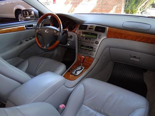 lexus es 330 2005 prata gasolina