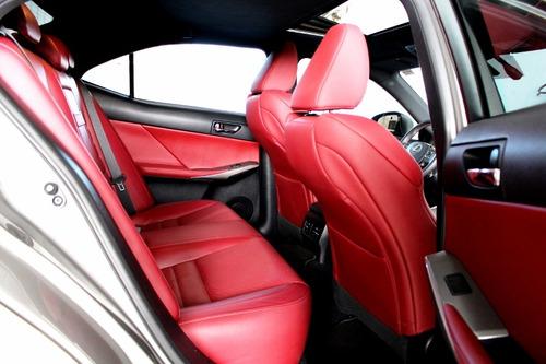 lexus is 250 2.5 f-sport v6 24v  4p automático -14/15