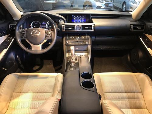 lexus is 250 2.5 v6 24v gasolina 4p automatico
