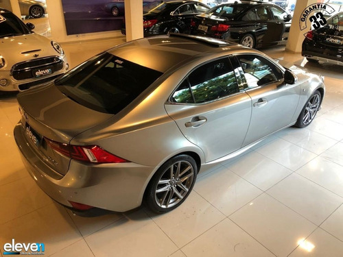 lexus is250 f-sport 2.5 v6 24v blindado
