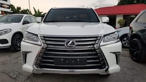 lexus lx 570 blanca 2017