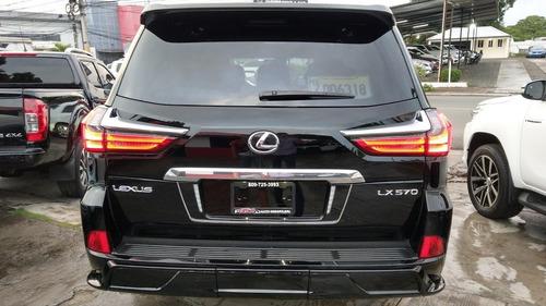 lexus lx 570 negra 2018 kit 2019