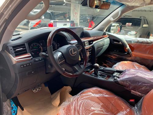 lexus lx570 5.7 gasolina sport plus titanium modelo 2019