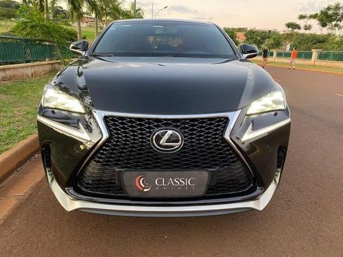 lexus nx 200t f-sport 2.0 16v, gbj7427