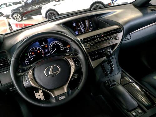 lexus rx 350 3.5 f-sport aut. 5p