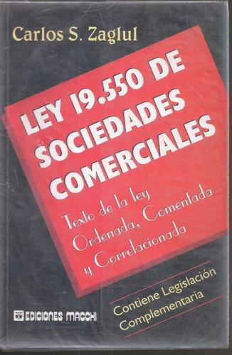 ley 19550 de sociedades comerciales zaglul carlos