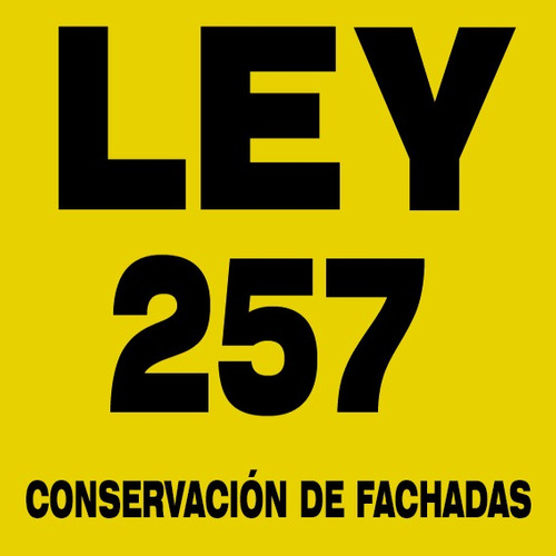 ley 257 - certificado de fachada segura - 11.5028.7347