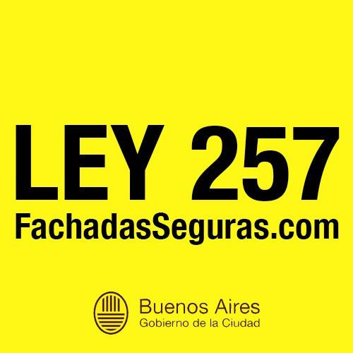 ley 257. fachadas seguras. consultas sin cargo: 11 7012 0236