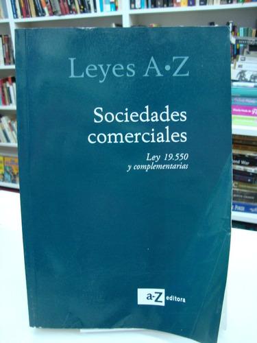 ley de sociedades comerciales 19550 - az editorial