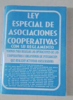 ley especial de asociaciones cooperativas mayor y detal