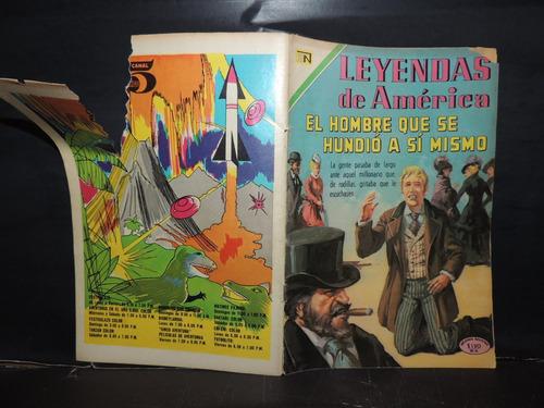 leyendas de america # 175 novaro cuento / comic 1970