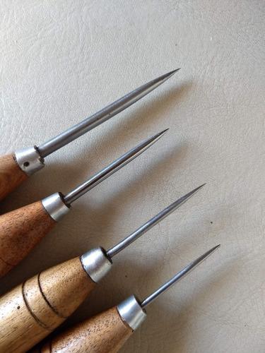 lezna redonda de tejer 3mm cuero talabarteria zapatero