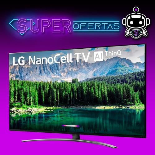lg 65 4k ultra hd nanocell + google assistant + magic remote
