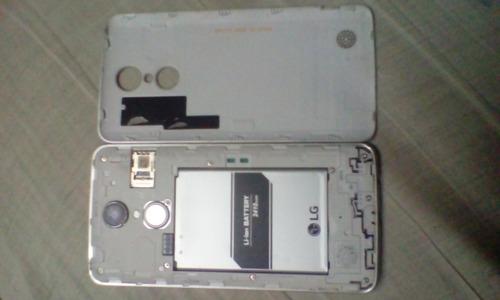 lg aristo ms210 liberado para rep. placa  bateria y carcasa