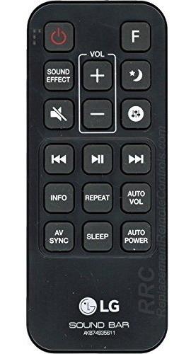lg barra de sonido mando a distancia akb74935611