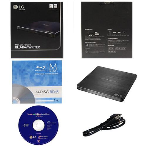 lg  blu-ray dvd externo grabador reproductor 3d & 4k / itech