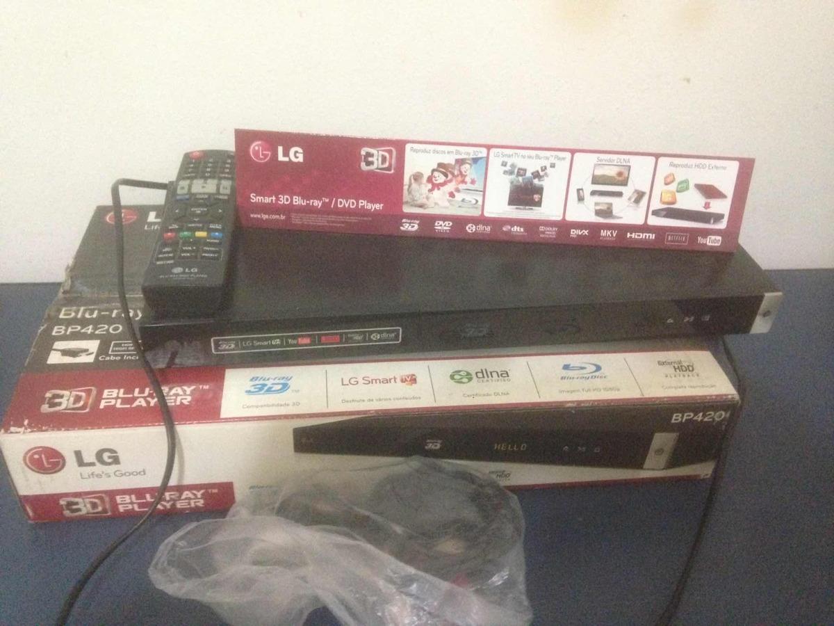 Lg Blu-ray Dvd Player 3d Bp420
