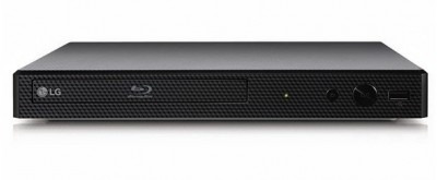 lg bp255 blu-ray player, fullhd, hdmi, usb 2.0, externo, neg