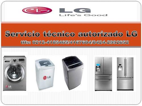 lg centro de servicio tecnico autorizado neveras lavadoras
