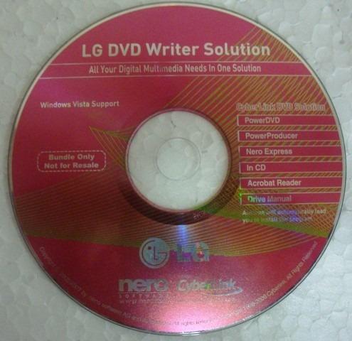 nero lg dvd writer solution